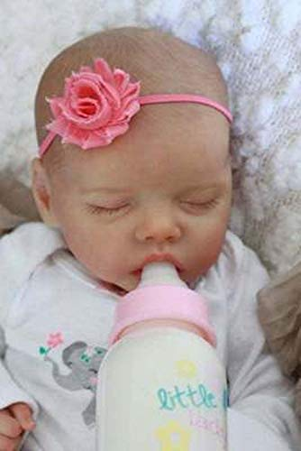 LX68XL Reborn Doll Kit Twin A 18? Sleeping Fresh Color Unpainted Unfinished Doll Parts