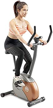 Marcy ME-708 Upright Exercise Bike with Resistance