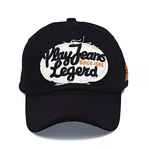 TDPYT Sombrero para el Sol para Hombre Sombrero de Hip Hop de la Letra de la Gorra de béisbol de los Hombres del algodón para Empalme del Bordado de Las Mujeres Un Regalo de cumpleaños para el