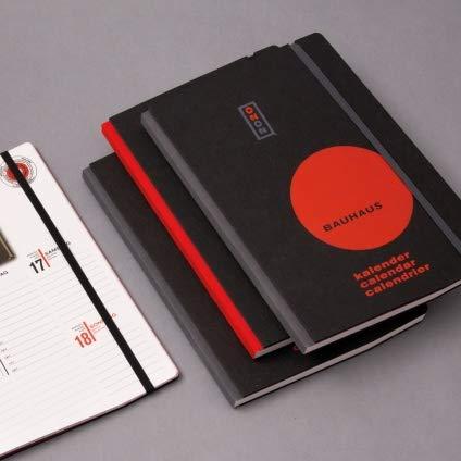Kalender Bauhaus 2020 (Wochenkalender in Buchform) Fotos aus Bauhaus-Alben Weimar 1919 (grau)