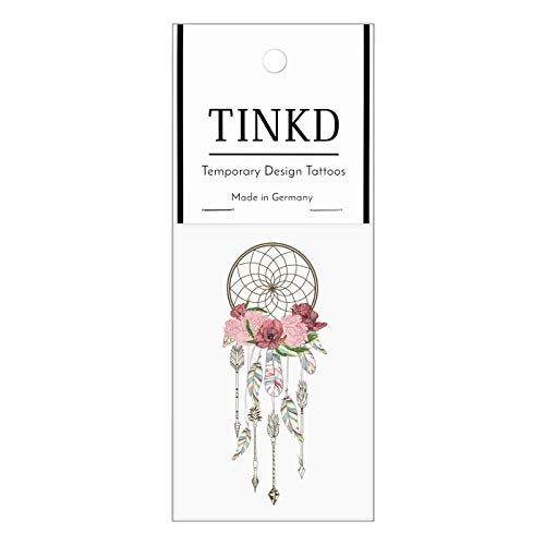 TINKD Fake-Tattoo Traumfänger - Dreamcatcher Temporary Tattoo - Made in Germany
