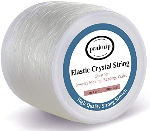 1mm Elastic Bracelet String Elastic Cord for Necklace Bracelet Beading and Jewelry Making Strong product image