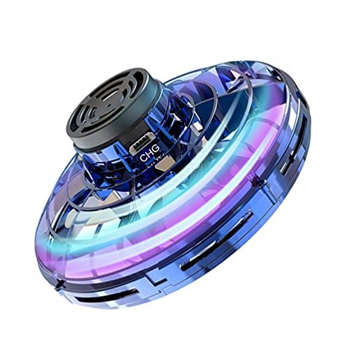 Kisangel 1 Juego de Spinner de Juguete para Adultos Y Niños Juguete Interactivo Azul Oscuro