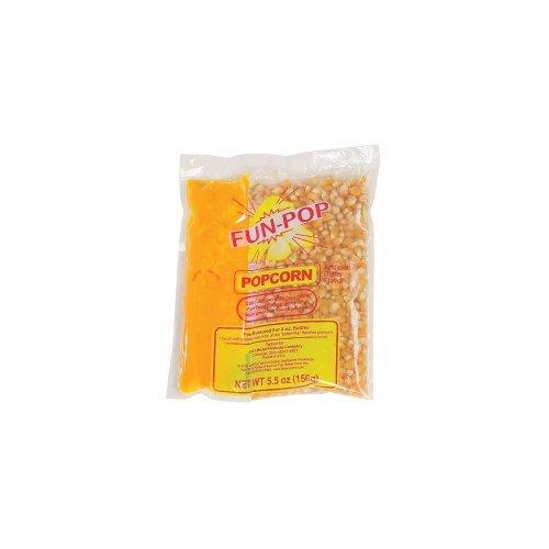 Gold Medal 2834 Mega Pop Popcorn Kit for 4 Oz. Fun Pop - 36 / CS by Gold Medal