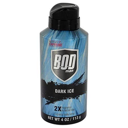 Parfums De Coeur BOD Man Dark Ice by Body Spray 4 oz / 120 ML (Men)