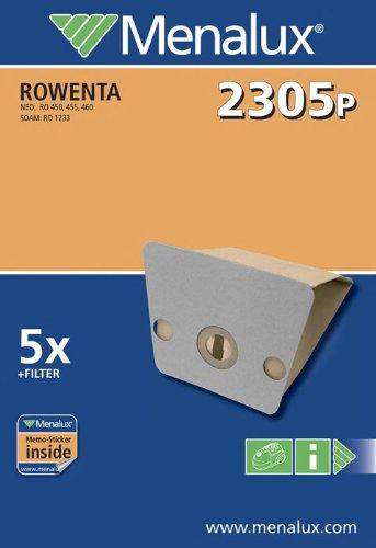 Menalux 2305 P / 5 Staubbeutel/Papier/Rowenta