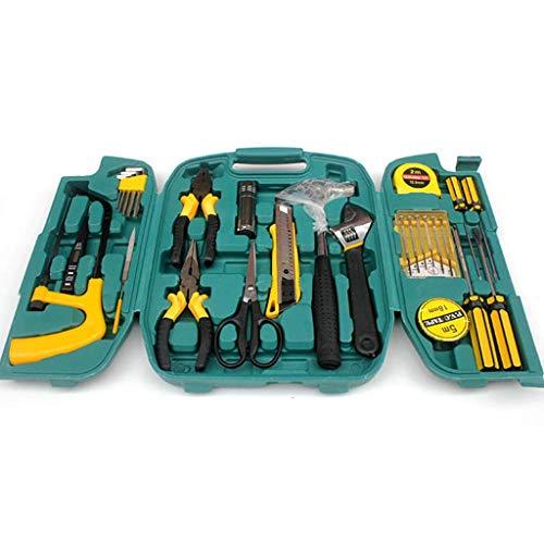 SEESEE.U Haushaltshandwerkzeug-Kit, 27-teiliges DIY- und Reparatur-Toolkit-Set mit elektrischen Bohrschraubern für Universität, Hausbesitzer, Reparatur-Toolkit-Set