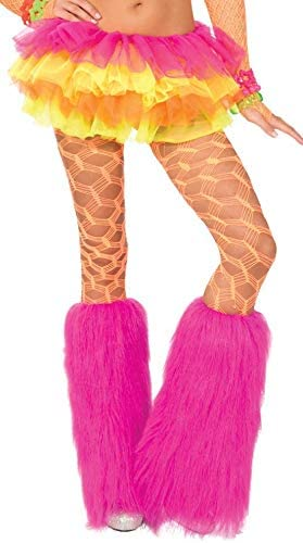 Forum Novelties Some reservation Womens Neon Pantyhose Wide Fishnet Bargain