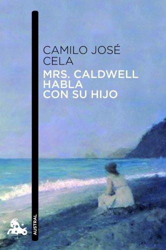 Mrs. Caldwell habla con su hijo /