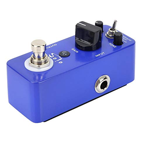 High-gain Distortion Pedal Distortion Effect Pedal Durable for Guitar for Guitar Players