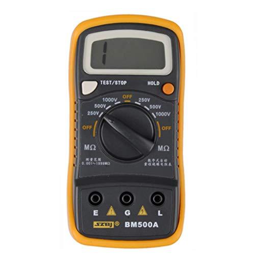 BM500A 1000V 1999M Isolationswiderstand Megohmmeter Multimeter