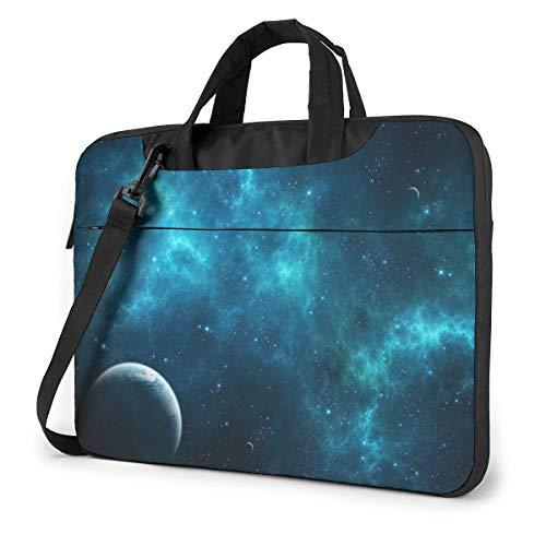 XCNGG Space Wallpaper Laptop Bag Maletín a Prueba de Golpes Tablet Carry Handbag para Viajes de Negocios Oficina 13 Pulgadas