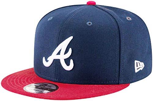 New Era Atlanta Braves Navy Red OTC Snapback Cap 9fifty 950 OSFA Limited Edition MLB