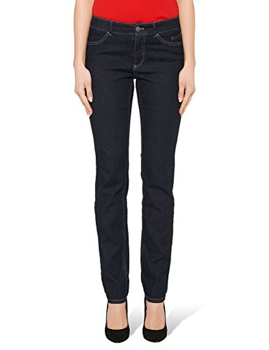 Marc Cain Essentials Damen Jeanshose +E8220D20, Blau (Dark Blue Denim 357), W28/L32 (1)