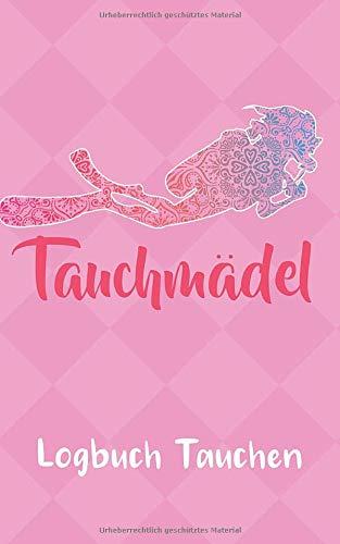 Tauchen Logbuch: Pink Gerätetauchen | Tauchen Dive Log. Platz für 100 Tauchgänge auf vorgedruckten Seiten für Taucherinnen Frauen Mädels und Ladies