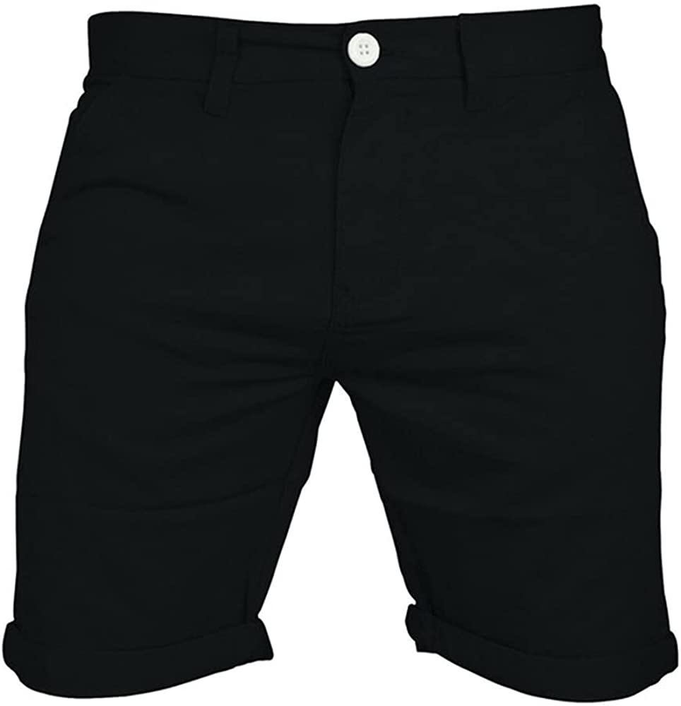 Men's Casual Color Outdoors Beach Work Trouser Shorts Pant
