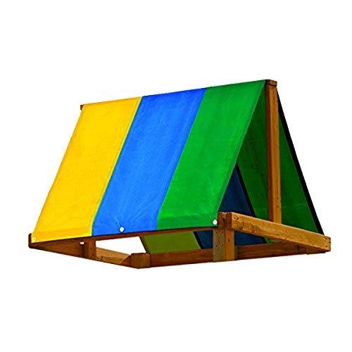 "Swing-N-Slide WS 4403 52"" x 90"" Swing Set Replacement Tarp, Multicolor"