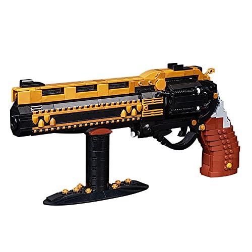 BMDHA Pistola De Juguete 928 Pcs, Pistola Rompecabezas De Alta Dificultad para NiñOs. Desafiante, Armas para NiñOs Molde De Ajuste Alto Juego Mental Mejorar La Capacidad PráCtica