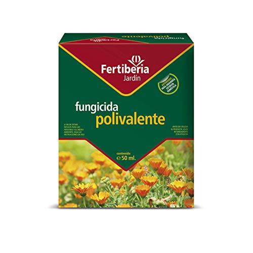 FERTIBERIA JARDÍN FUNGICIDA POLIVALENTE 50 ml. Amplio Rango de acción, con Efecto preventivo y curativo. Incluye Dosificador.