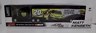 Action 2013 Matt Kenseth #20 Dollar General Husky Two Sided Hauler Trailer Transporter Semi Tractor Rig Truck 1/64 Scale Racing Collectables 2013 Limited Edition Metal Cab/Tractor Plastic Trailer