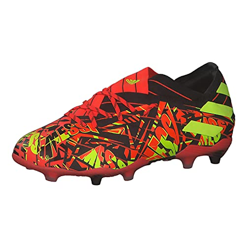 adidas Nemeziz Messi .1 FG J, Zapatillas de fútbol, Rojsol/Amasol/NEGBÁS, 38 EU