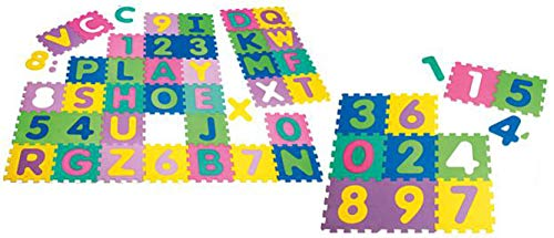 Playshoes - EVA-Puzzlematten, 36-teilig - 0bunt