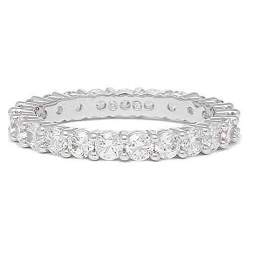 [スワロフスキー]リング アクセサリー SWAROVSKI VITTORE XL レディース 指輪 シルバー 銀 (55(約13〜15号)) [並行輸入品]