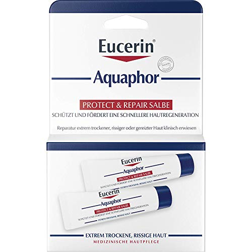 Eucerin Aquaphor Protect & Repair Salbe, 2x10 ml Salbe