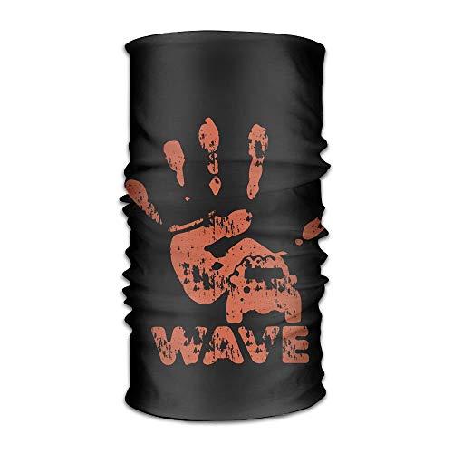 NA Bandana Hoofdband Novelty Jeep Wave Handprint Grill Wrangler Club Multifunctionele Magic Handsjaal, Gezichtsmasker, Neck Gaiter, Balaclava, Sweatband, Hoofd Wrap, Outdoor Sport UV-weerstand.