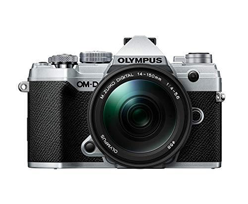 Olympus OM-D E-M5 Mark III CSC - Cámara de 20 MP (4K, estabilización de imagen en 5 ejes, AF por Detección de Fase) - pack con objetivo 14-15 mm EZ, color plata