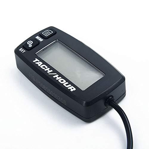 DXX-HR Tacómetro ATV Motor de reemplazo Digital Accesorios LCD LCD