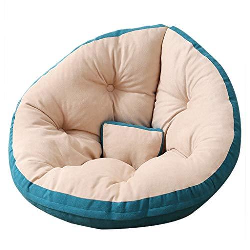 YLAN Gaming Bean Bag Puff Chair Big Sofa Portable Cuscino per Panca Imbottitura Spessa per Patio Portatile Bambini e Adulti 2 Taglie (150x80cm, 180x90cm) 180x90