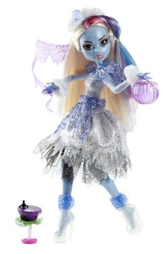Monster High Mattel Y0366 Muñeca Abbey Bominable y accesorios