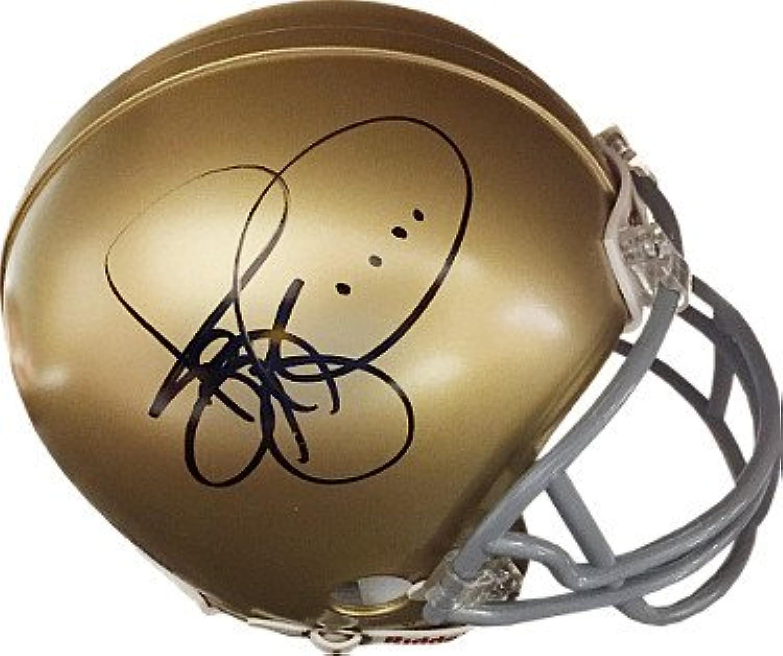 Jerome Bettis signed Notre Dame Fighting Irish Riddell Mini Helmet JSA Hologram  L45804