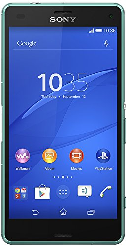 Sony Xperia Z3 Compact 4 G Smartphone, ohne SIM-Lock (Display 4,6 Zoll (11,7 cm), 16 GB, IP65/IP68, Android 4.4 KitKat).