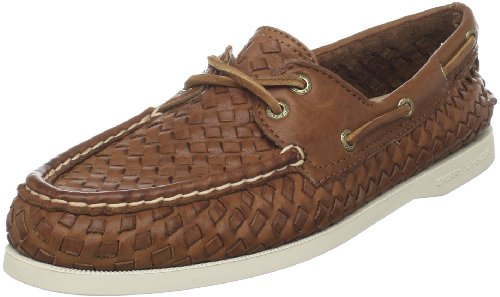 04c99bbb9fbe Limited availability Sperry Top-Sider Women's AO Woven Boat Shoe,Tan  Woven,7 M US Order Now!!