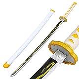 HZYYZH Demon Swerer Sword, Couteau en Bois, Manga Prop, Tomioka Yoshio Cosplay, Ninja Katana Arme, Jouets pour Enfants, 104cm,D