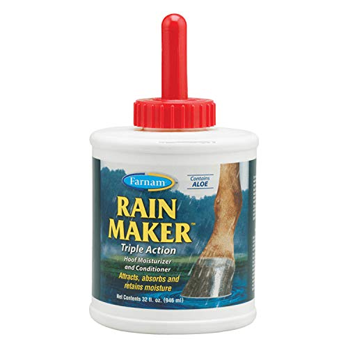 Farnam Rain Maker Triple Action Hoof Moisturizer and Conditioner, 32 fl oz