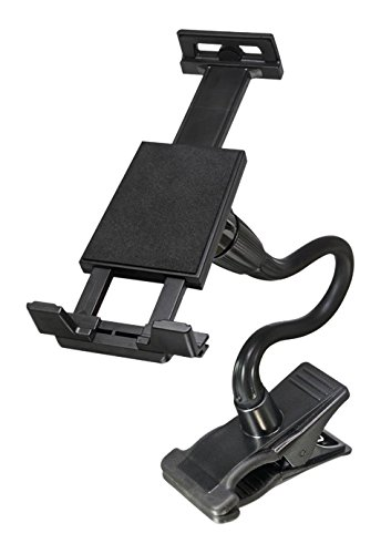Bracketron PhabGrip Clamp Mount Phablet-Style Smartphone & Tablet for iPad Android Samsung Galaxy Tab S4 S3 Microsoft Surface Pro Asus ZenPad 3S 10 Lenovo IdeaPad Huawei MediaPad Amazon Fire BT1-702-2