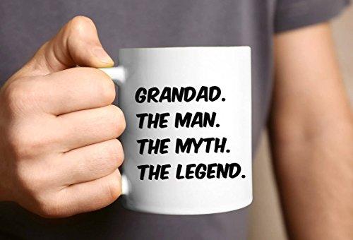 Taza para abuelo, regalo para el día del padre, abuelo, abuelo, cumpleaños, abuelo, abuelo, taza de regalo para él