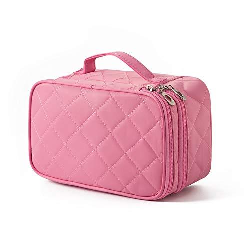 Waterdichte Vrouwen Nieuwe Mode Roze Make Up Tas Dames Grote Capaciteit Handtas Luipaard Print Tas Cosmetische Tassen & Cases 3