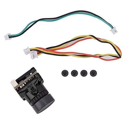 dgtrhted 1200TVL CMOS 2.1mm PAL/NTSC Umschaltbare F-P-V-Kamera for HGLRRC V2 (schwarz)
