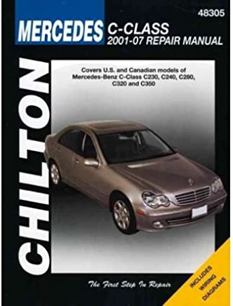 [(Chiltons Mercedes-Benz C-Class 2001-07 Repair Manual)] [Author: Alan Ahlstrand] published on (February, 2010)