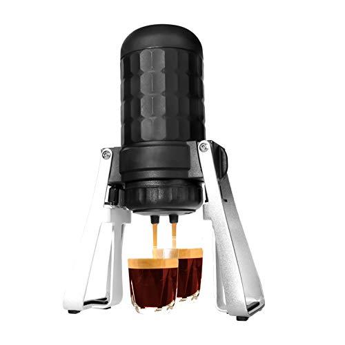 Tragbare Espresso-Maschine, Mini-Reise-Kaffeeautomat, manuell von Kolben Aktion Perfekt für Camping, Reisen und Büro