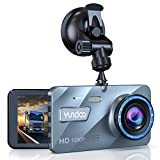 Dual Dash Cam, Contain 32GB SD Card, Full HD 1080P 4 Inch IPS