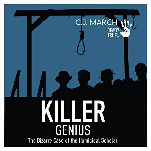 Killer Genius audiobook cover art