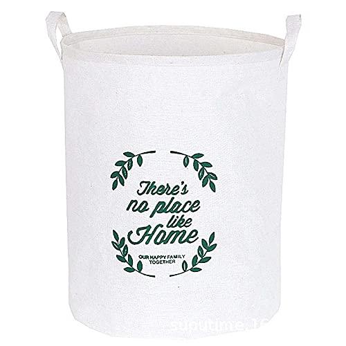 SKYGC Cesta de lavandería a Prueba de Agua de Gran tamaño, Cesta de lavandería Plegable con manijas para Almacenamiento Bin Kids Room Home Organizer,B