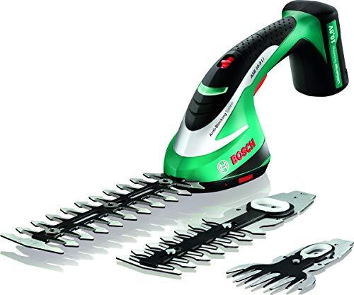 Bosch 600856305 Akku-Schere ASB 10 8 LI Set + Handschuhe