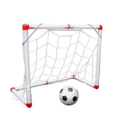 nisake Fußballtor Netz Kinder Fußballspiel Spielzeug Interaktive Fußball Jungen für Hinterhof Tor im Freien