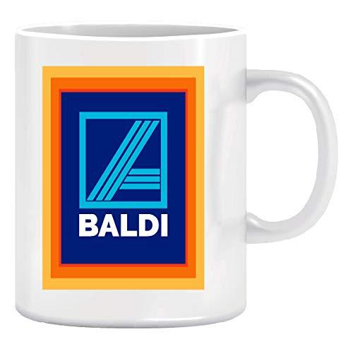 Novelty Tea/Coffee Ceramic Mugs Joke - Baldi